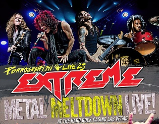 Extreme to Release New Live DVD